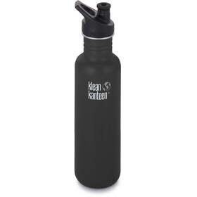 Klean Kanteen Classic Bottle Sport Cap 800ml Shale Black Matt
